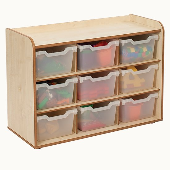 Baby and Toddler Storage - 3x3 Tray