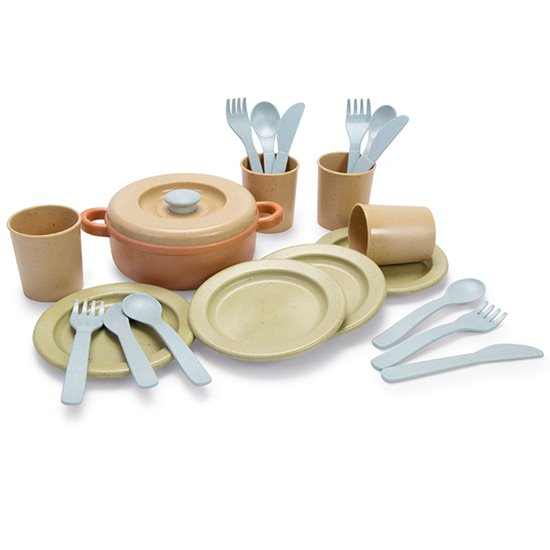 Bio Plastic Dinner Set