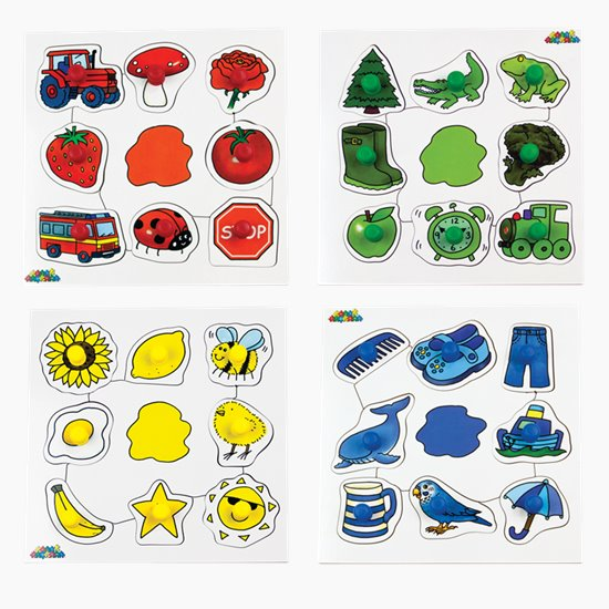 Colour Peg Puzzles