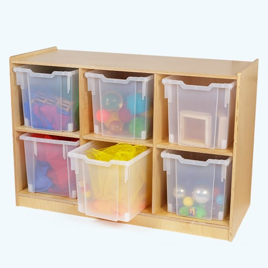 Loose Parts Storage Cubby
