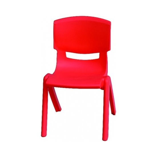 Red Plastic Chair Clearance stock
