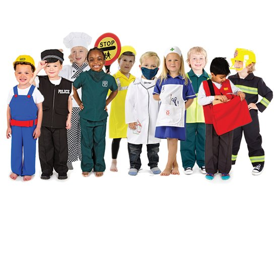 Occupations Costumes - set of 10
