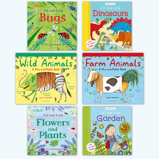 Animals and Nature Board Book Pack