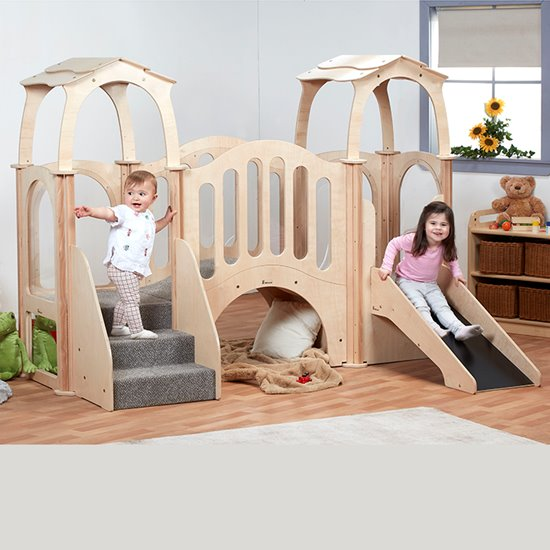 Hide n Slide Kinder Gym