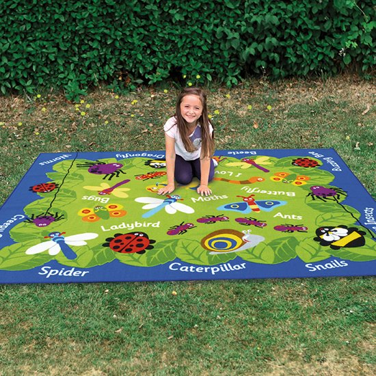 Mini Beasts Outdoor Carpet