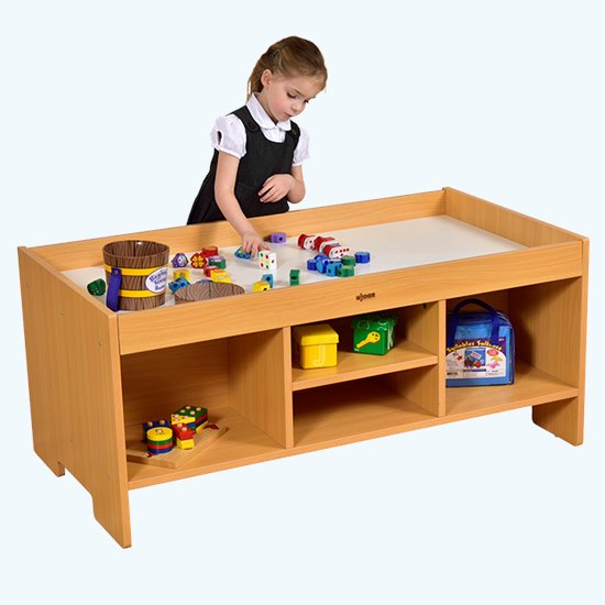 Rectangular Play Table