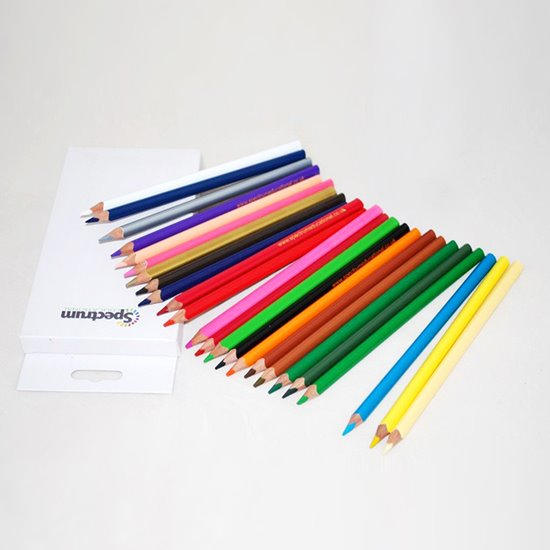 Triangular Coloured Pencils