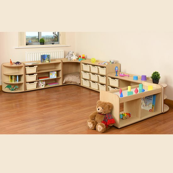 Baby and Toddler Storage Set 2 - Natural