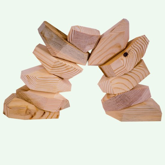 Odd Shape Wooden Blocks