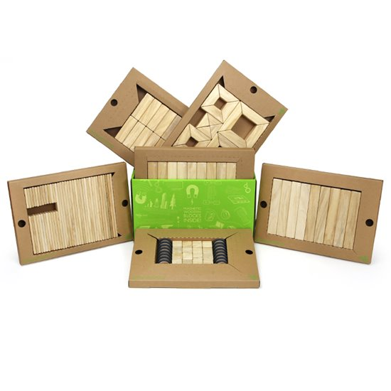 Tegu Classroom Kit - Natural 130 Pieces