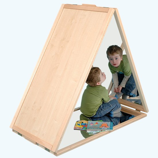 Triangular Floor Mirror