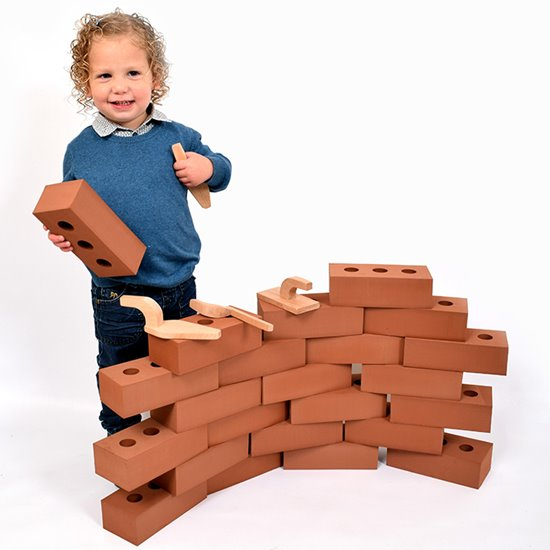 Pretend House Bricks