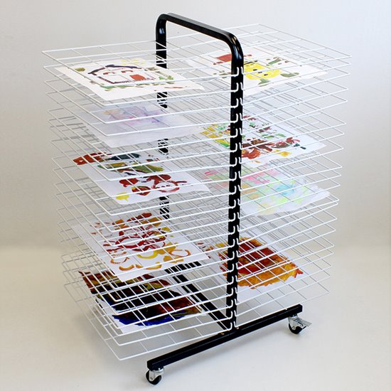 40 Shelf Mobile Drying Rack