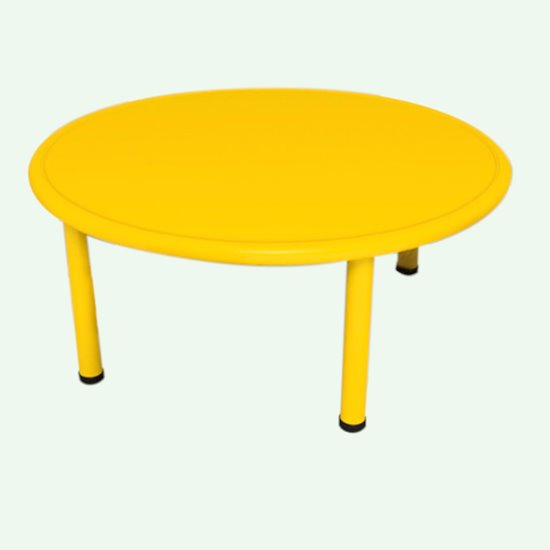 Yellow Plastic Table Clearance stock