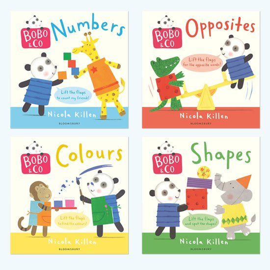 Bobo & Co Board Book Pack