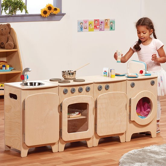 Pre-school Kitchen - 4 piece set