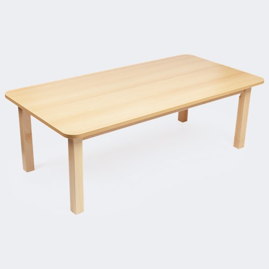Wood Effect Rectangular Table