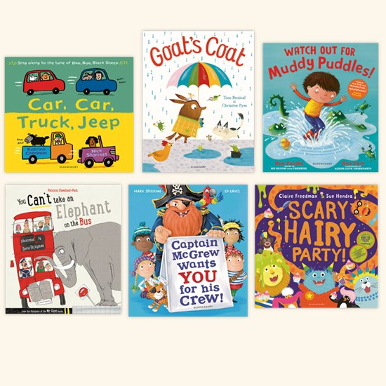 Rhyming Picture Book Pack 1