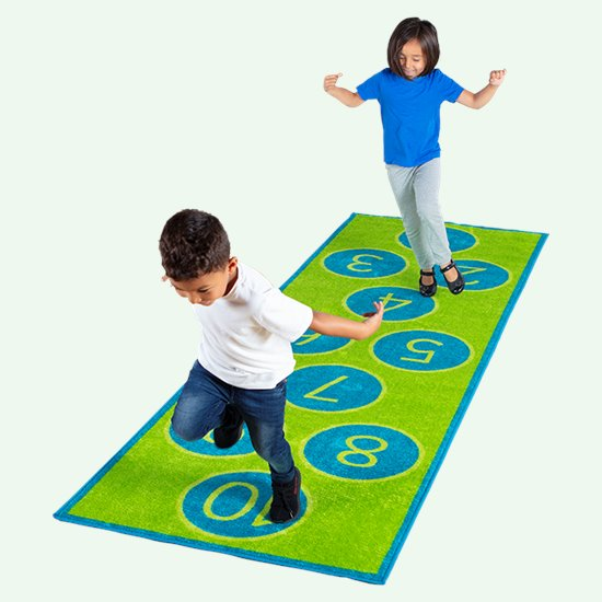 Hopscotch 1-10 Carpet