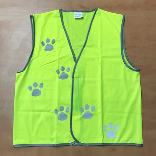 High Vis Vest - Adult Small Paws