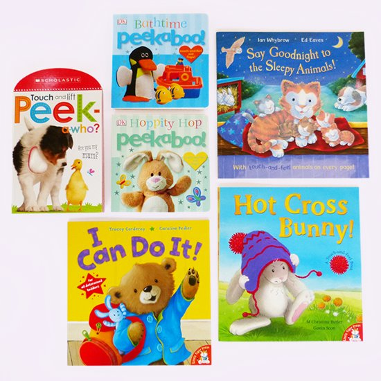 Baby Touch and Feel Book Pack