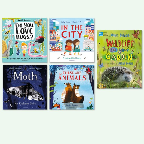 Animals and Nature Book Pack