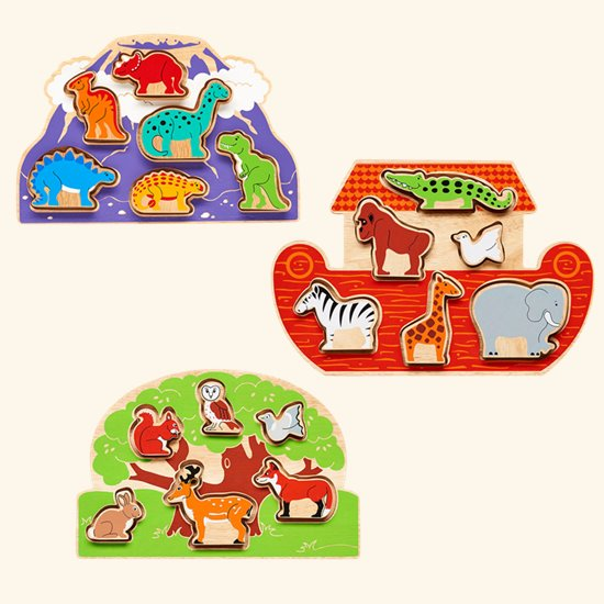 Wooden Shapesorter Puzzles
