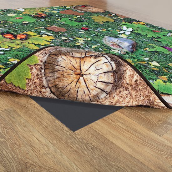 Double Sided Woodland Carpet