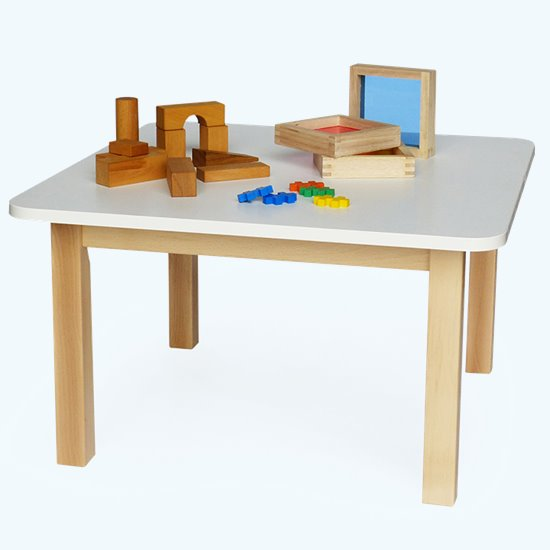 Wooden Table Square