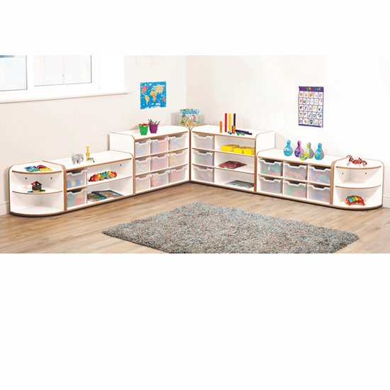 Baby and Toddler Storage Set 1 - White