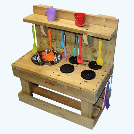 Mini Mud Kitchen - Deluxe