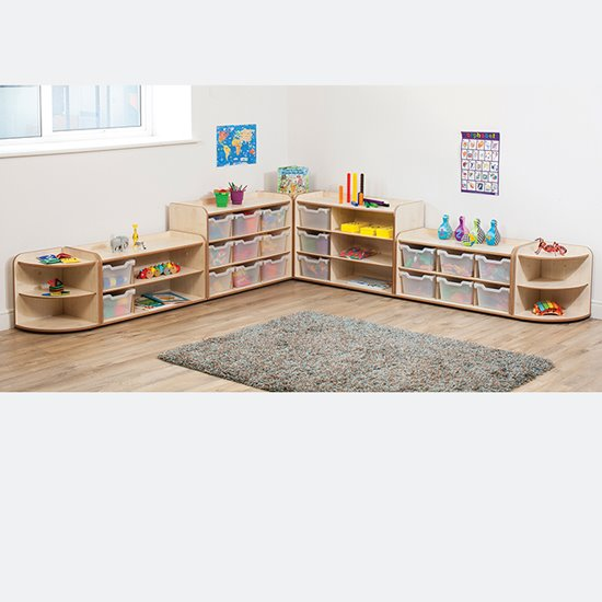 Baby and Toddler Storage Set 1 - Natural