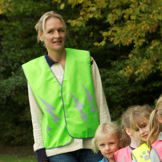 High Vis Vest - Adult Small Lightning