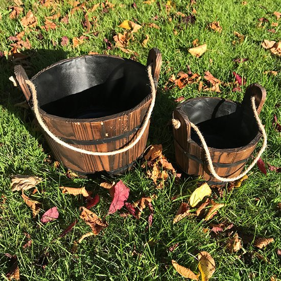 Wooden Water Buckets