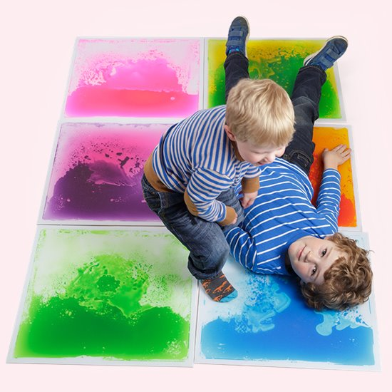 Liquid Floor Tiles - set of 6 large