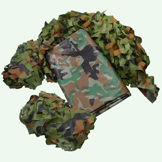 Camouflage Tarpaulin and Netting