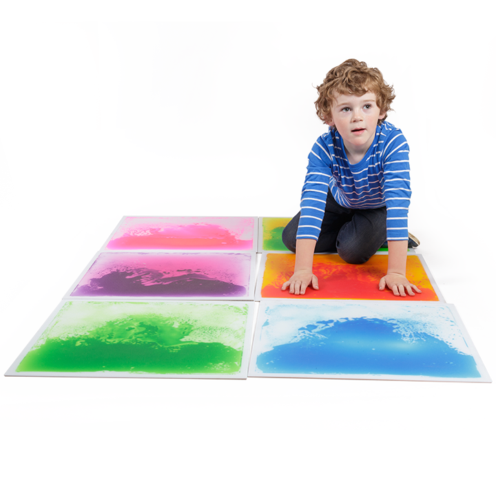 Liquid Floor Tiles Set Of 6 Large Early Years Direct