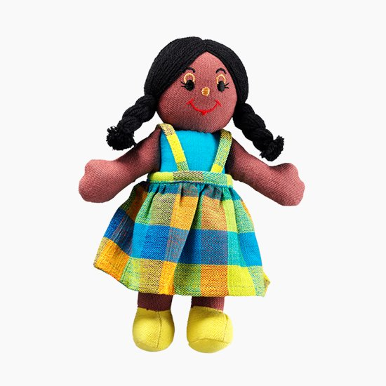 Ethnic Rag Doll Girl