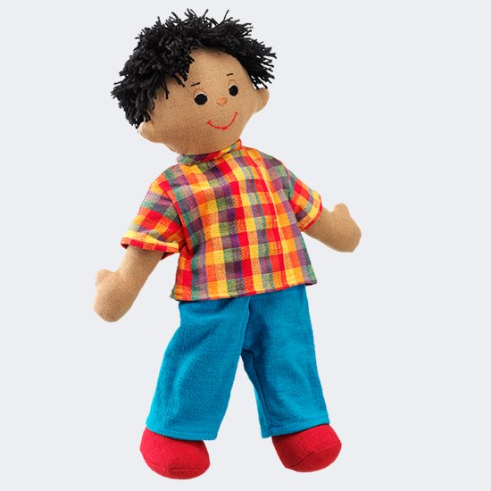 Ethnic Rag Doll Dad