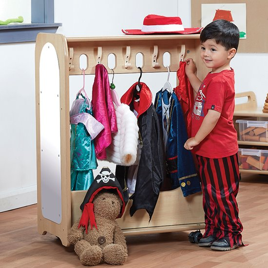 Mini Mobile Dressing Up Unit