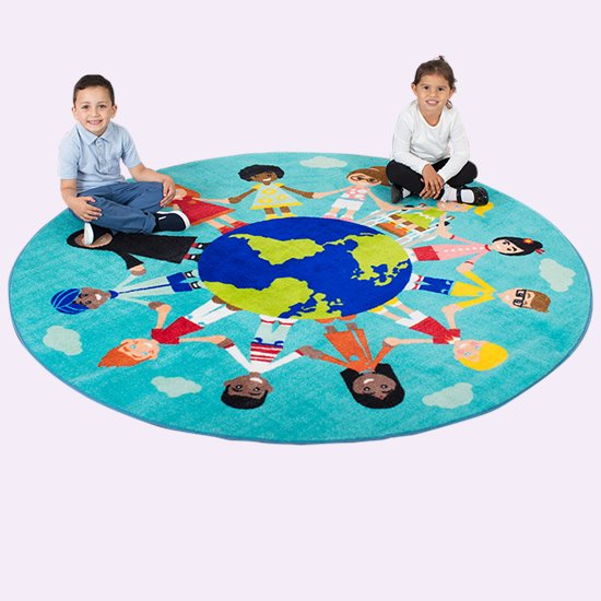 Children of the World Carpet