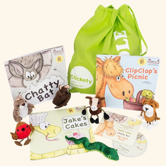 Clickety Books Puppet Bundle 1