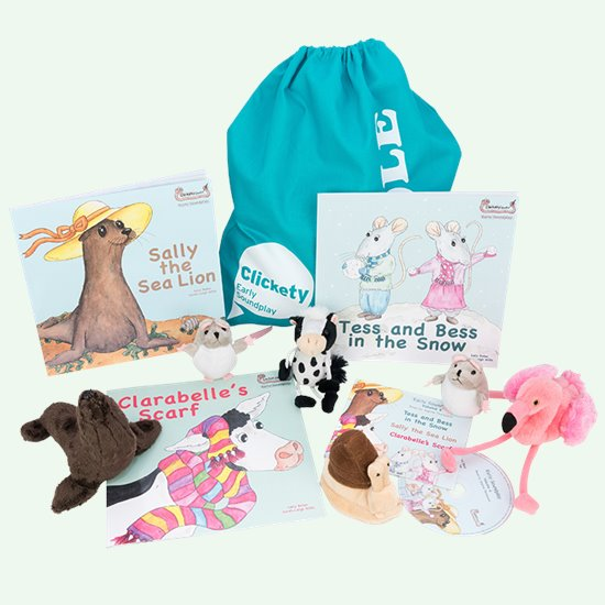 Clickety Speech and Story Sack 4