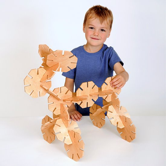 Wooden Octoplay - Natural