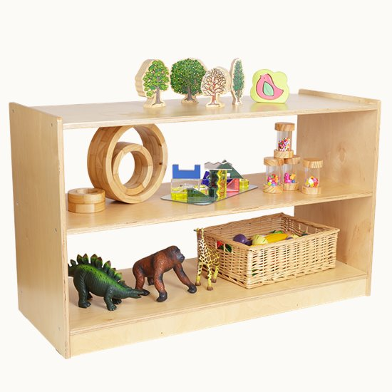 Open 2 Shelf Unit