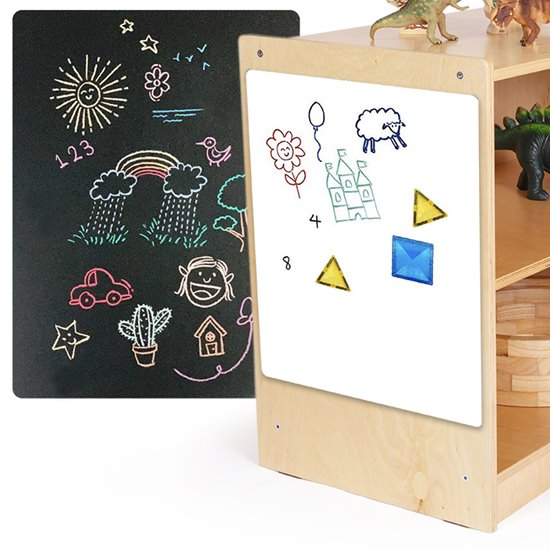 Magnetic Whiteboard and Blackboard Sheets