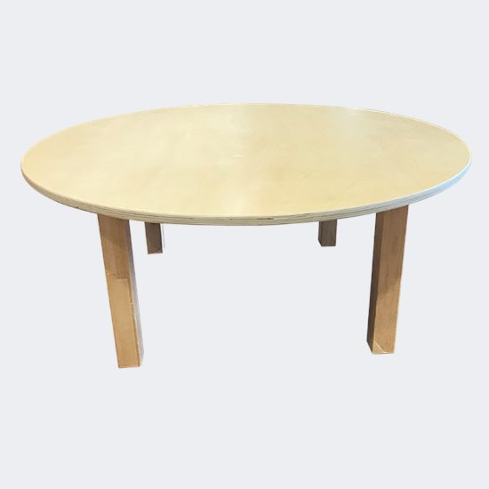 Round Birch Table