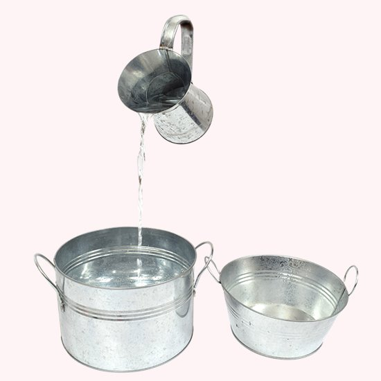 Metal Pot Set