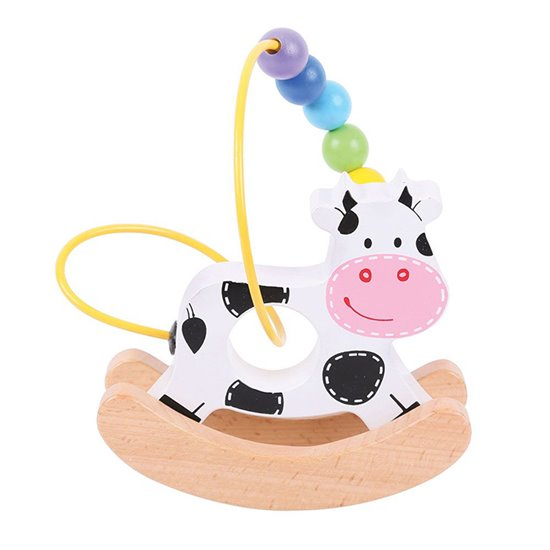 Rocking Bead Frame Cow