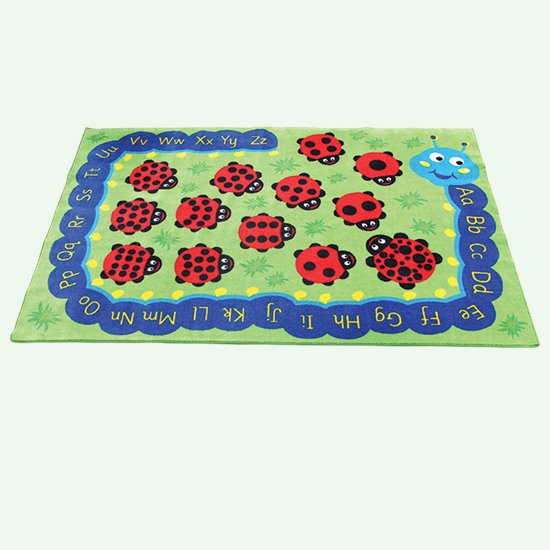 Caterpillar ABC Counting Carpet